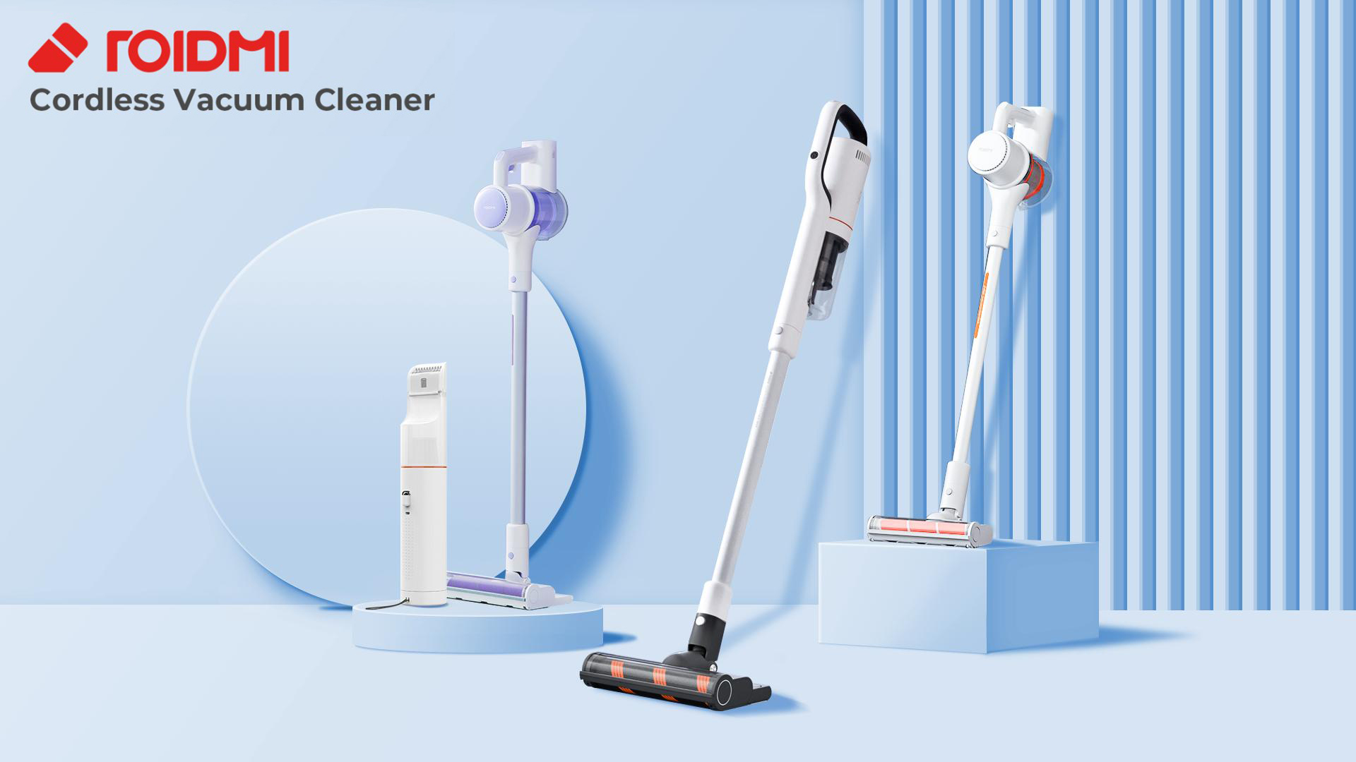 Roidmi Vacuum Cleaner by TCADS