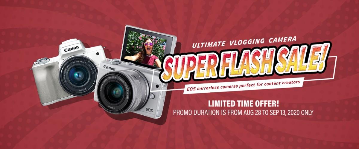Super Flash Sale Canon by TCADS