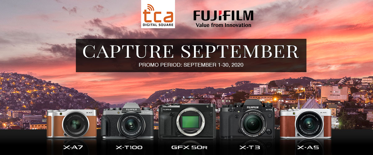 Capture September Fujifilm by TCADS
